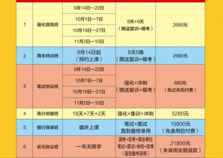 志贤教育2020年国考班正式开课 先录用后付款