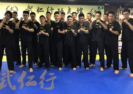 上海MMA综合格斗培训 武仁行功夫馆 免费体验
