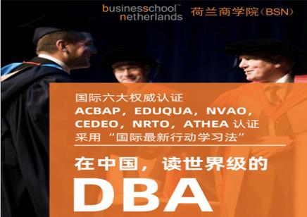 荷兰商学院DBA工商管理博士学位项目招生简章