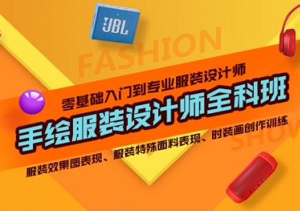 上海手绘服装设计全科班 熟练掌握服装的基础比例